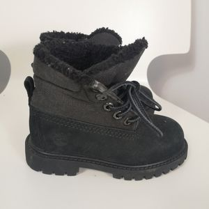 Timberland Unisex-Child Courma Kid Roll Top Boot